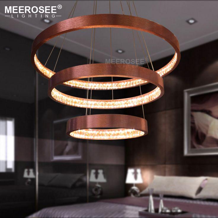 Modern LED Pendant Lights Acrylic Hanging Lamp for Restaurant Pendant Lamp Circle Luminaires Lustres Home Lighting