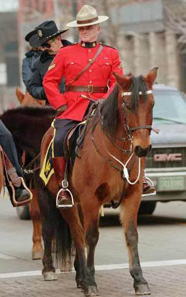 The Royal Canadian Mounted Police (Mounties)