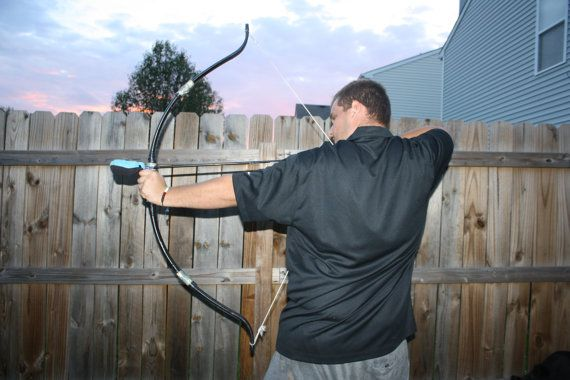 SCA Amtgard LARP Recurve PVC Take Down Bow  Custom by DunnWithLove, $32.50