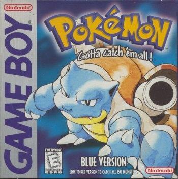 Pokemon Blue Version Game Boy game