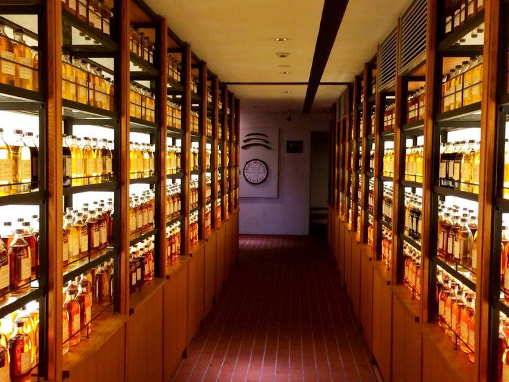 京都山崎のサントリーウイスキー工場