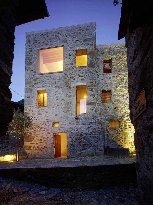 Estremamente Oltre 25 fantastiche idee su Case in pietra su Pinterest | Case  LX83