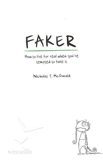 Buy Faker by Nicholas T Mcdonald Online - Faker Paperback: ID 9781909919433