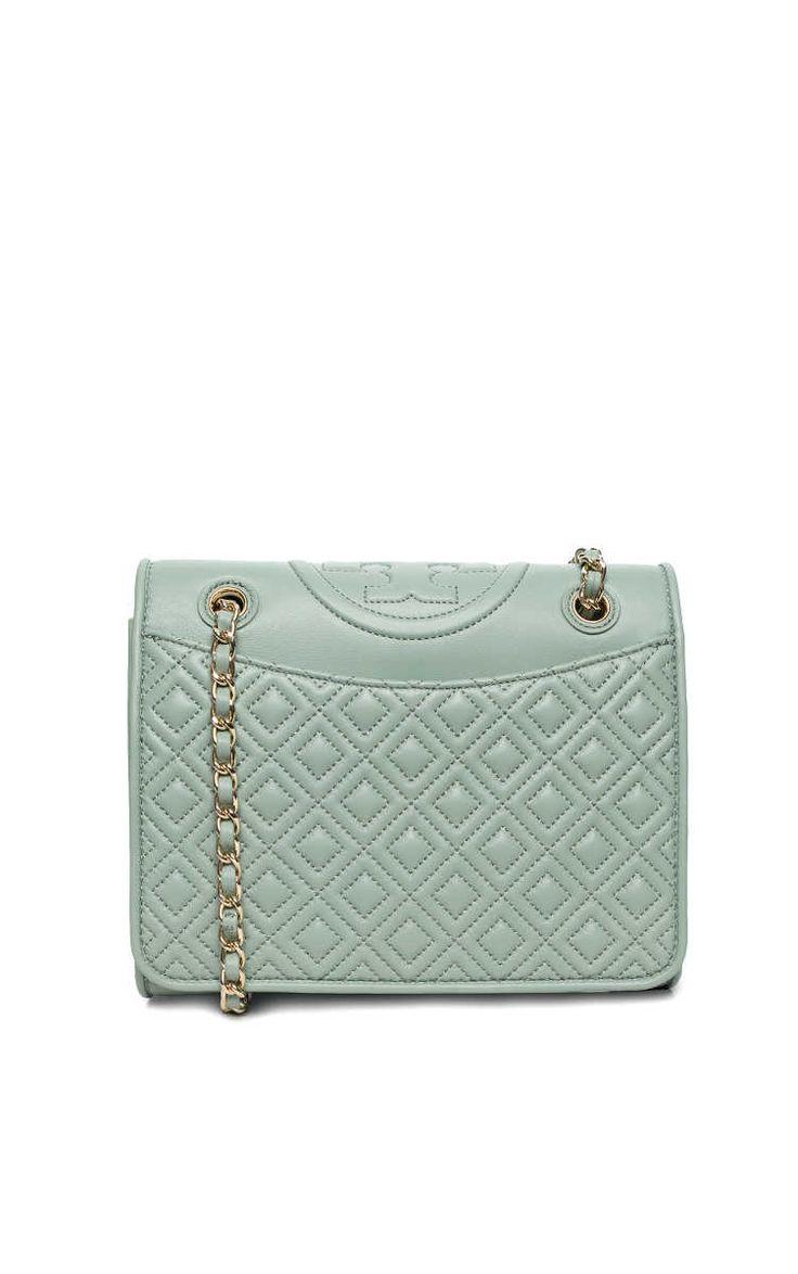 Handväska Fleming Medium Bag GREEN ACRE - Tory Burch - Designers - Raglady