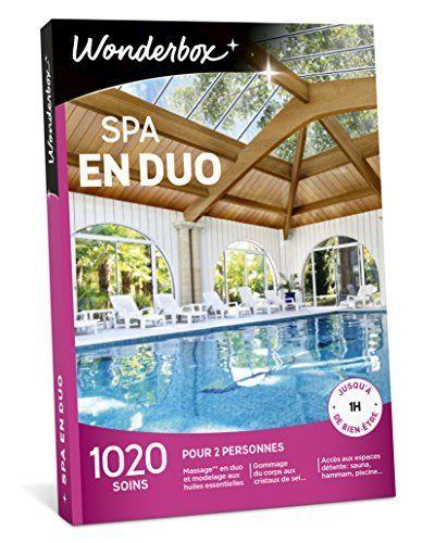 WONDERBOX – Coffret cadeau – SPA EN DUO: Coffret-cadeau bien-être / détente. Validité 3 ans à partir de la date d'achat ; échange gratuit…