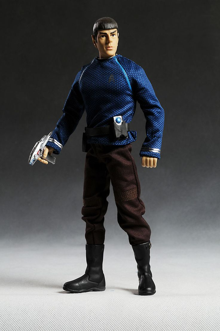 star trek action figures | Kirk and Spock 12 inch sixth scale Star Trek action figures - Another ...