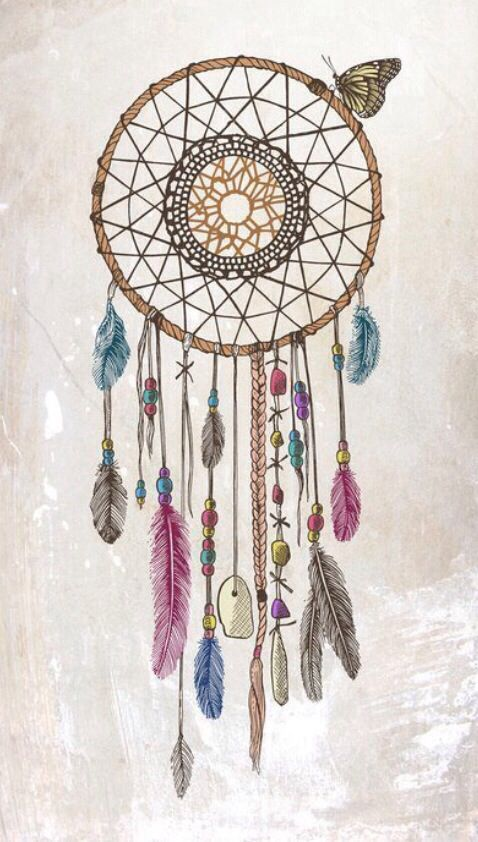 dream catcher } drawing | cool designs and drawings ...