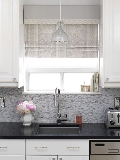 Pendant light over sink - love it!