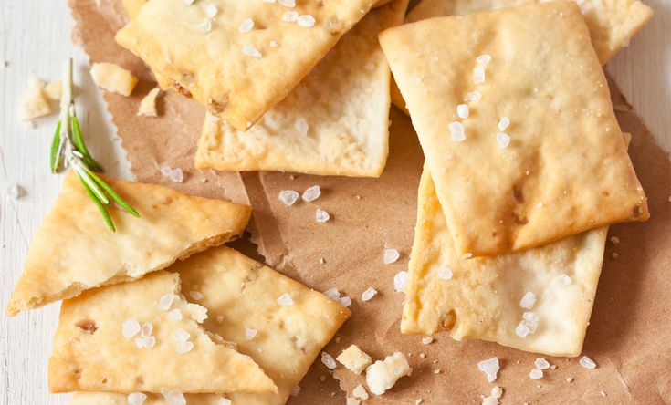 Herb & Sea Salt Chick Pea Crackers