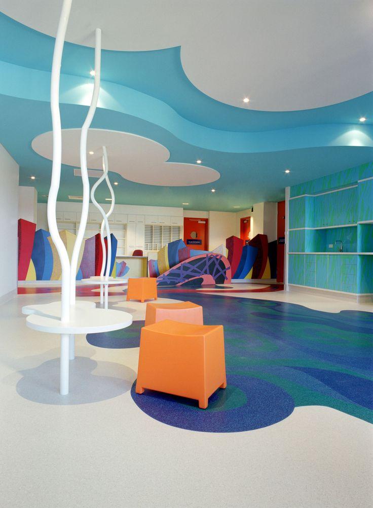 Canberra Pediatrics Gerflor Flooring Design Hospital Heathcare