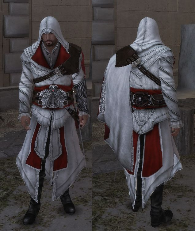 Ezio Auditores robes - The Assassins Creed Wiki - Assassins Creed, Assassins Creed II, Assassins Creed: Brotherhood, Assassins Creed: Revelations, walkthroughs and more!