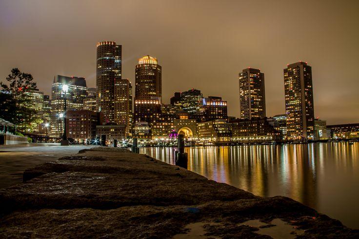 https://flic.kr/p/MkHjnP   Skyline Boston at night