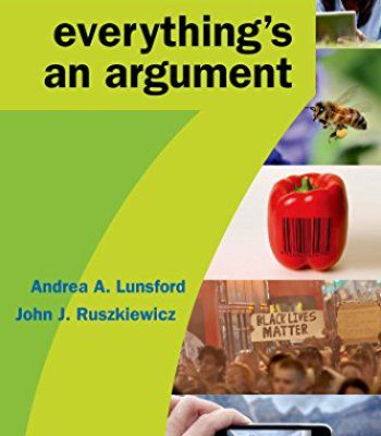 Everything's an Argument PDF