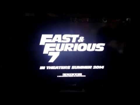 Pour vous remontez le moral voici un trailer officiel (fuité) de Fast & Furious 7. REPOSE EN PAIX PAUL WALKER #FastandFurious #FF7 # #PaulWalker #31Novembre2013