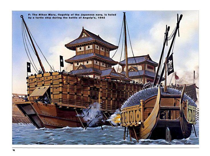 Кобуксон: судно-черепаха » uCrazy.ru - Источник Хорошего Настроения
