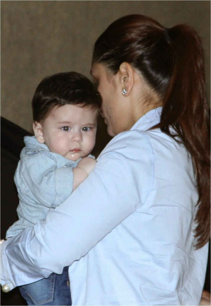 Adorable Pictures of Kareena Kapoor's child have taken the web by Storm! - Fashion Manias