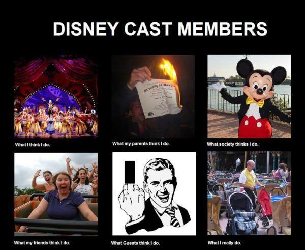 Disney Cast Members meme, whatireally