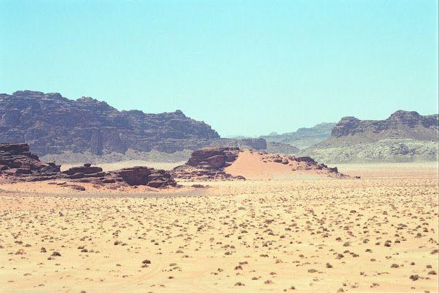 NINIVEMAIL: Syrie a Jordánsko -  Wadi Rum (Vádí Ram) fotografi...