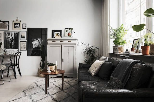 A small space full of light in Stockholm