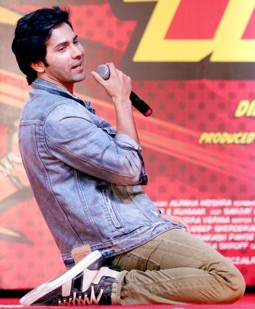 Varun Dhawan busy in promoting 'Main Tera Hero'