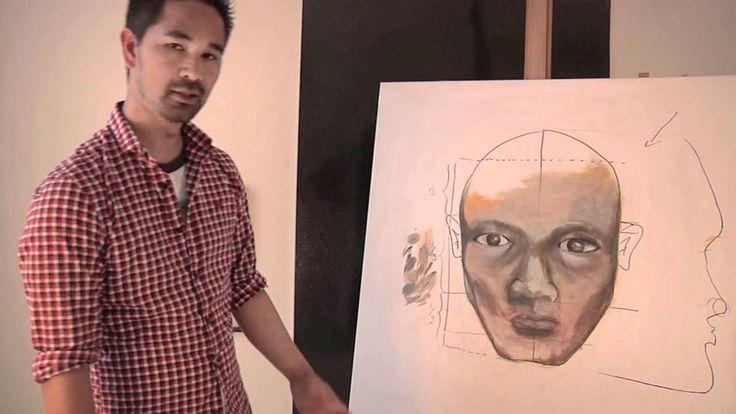 Lær at male et ansigt del 5 - ørerne - med Martin Quade