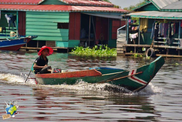 """Le Tonlé Sap, dont le nom signifie en Khmer """"grande rivière d'eau douce"""", est le plus grand réservoir d'eau douce de toute l'Asie du Sud-Est. Siem Reap est la capitale de la province de Siem Reap située à environ 300 km au nord-nord-ouest de la capitale Phnom Penh. C'est une ville en plein développement du …"""