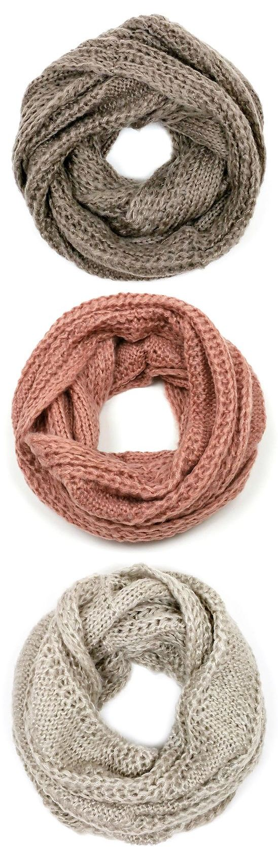 Scarves in Neutral Colors - so versatile!