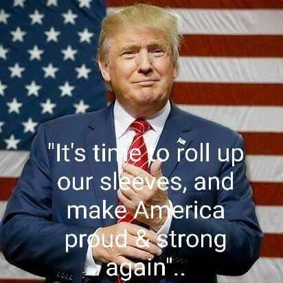 So in other words America do us all a favor take your head out of your a** wipe the s*** out of your eyes an open them before it's too late!!  Go Trump!!!!