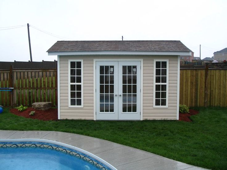 Shedman Wooden Sheds has been supplying eye-pleasing, real wood sheds to Canadians since 1982. Standard kits come with pre-assembled walls, all necessary hardware and easy, step by step instructions. Solve your storage problems the natural way with a Shedman Wooden Shed. There are many styles to choose from including Gable, Cottage, 5-Sided, Barn and Lean-Too. We also manufacture and install precut and pre-assembled custom Shed kits, garages, workshop/studio, gazebo, studios and hot tub ...