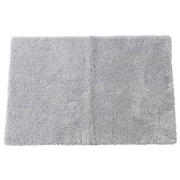 Tjock, mjuk badrumsmatta med en lugghöjd på 1,5 cm. Mått: 60x90 cm. Gummerad baksida som håller mattan på plats och minskar h...