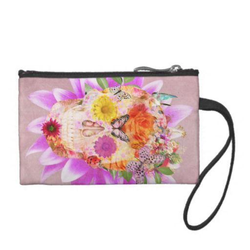 Roze Bloemen van de Vlinder van de Schedel van de