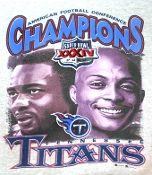 2000 Tennessee Titans Super Bowl sweatshirt. Music City Miracle bowl.