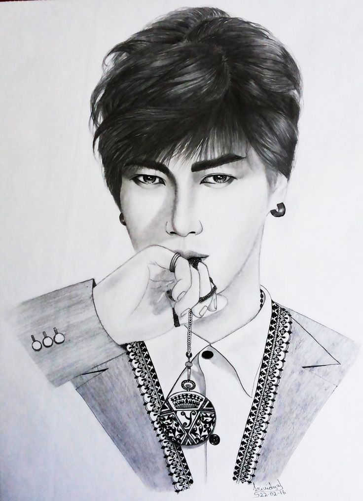 #yesung #superjuniour #inkart #ink #sketch #portrait #drawing #graphite #designer #fusion #suju