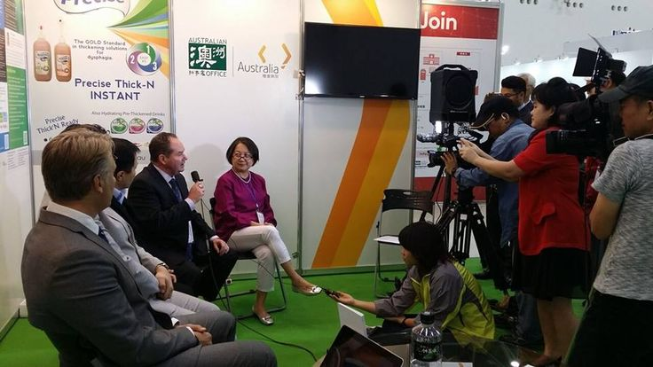 At a recent trade show event overseas our team was interviewed for Taiwan TV News.
