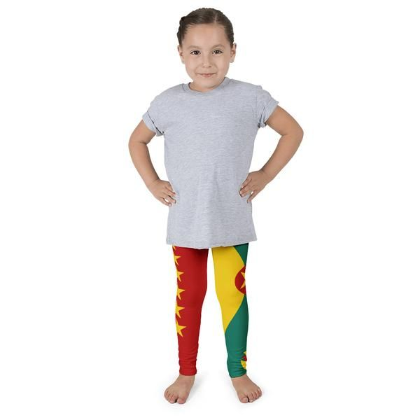 Grenada Flag - Kid's leggings