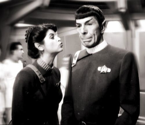 carmelilla9:    Spock and Saavik | Behind the Scenes
