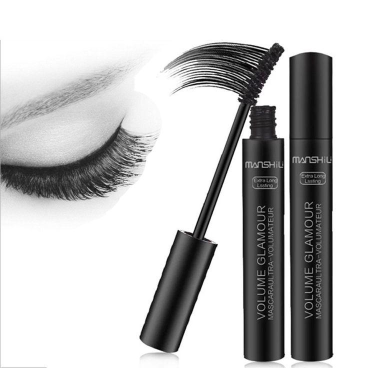 New Arrival Brand New 3D Black Eye Mascara Long Eyelash Silicone Brush Curving Lengthening Mascara Waterproof Makeup M02297