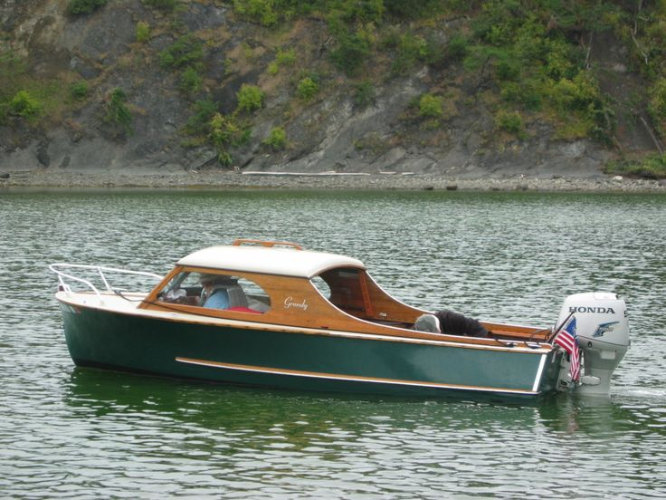 1954 grandy 16 runabout barcos pinterest boating for Runabout boats with outboard motors