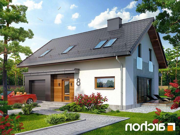 Projekt dom w godecjach  260lo