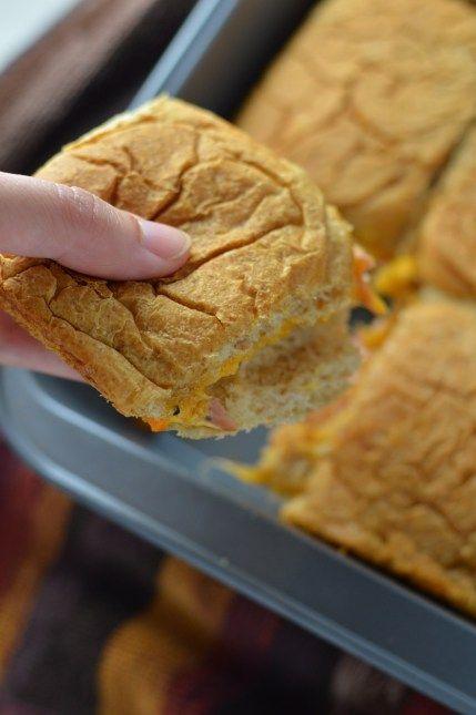 Ham and Cheese Freezer Sandwiches