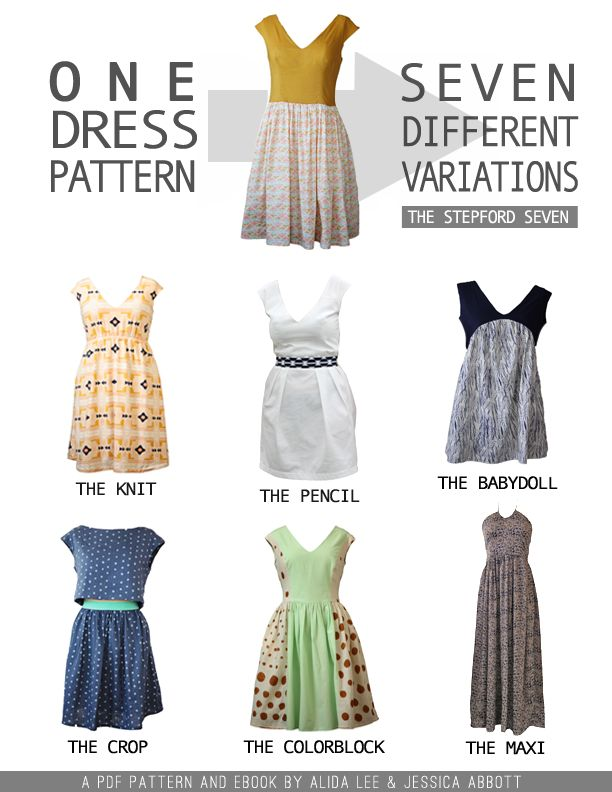 eBook - the Stepford Seven! You can grab it here for just $18: We have taken the Classic Stepford Dress Pattern… And gave it […]