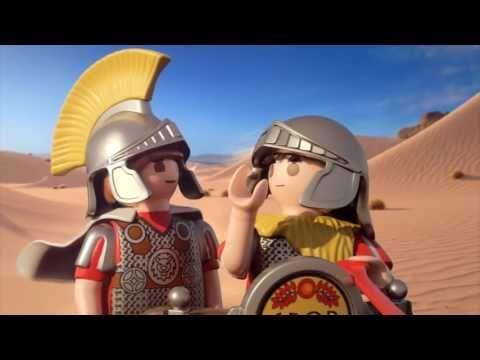 Playmobil - Romani e gli Egiziani - il cinema italiano - YouTube