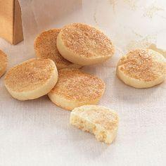 Köstliche dänische Butterplätzchen, die auf der Zunge zergehen. Das Aroma prägt der Zimt-Zucker, mit dem sie vor dem Backen bestreut werden.