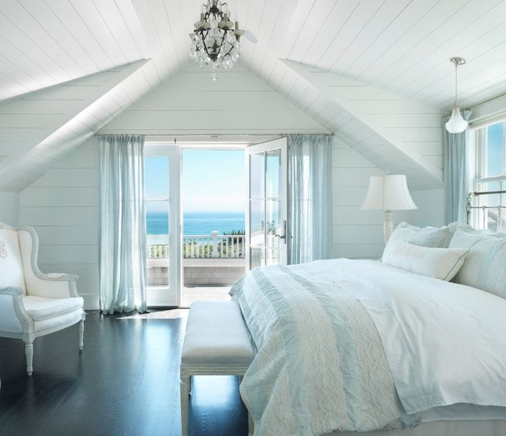 Coastal Maine Master Bedroom Retreat - Beach Style - Bedroom ...