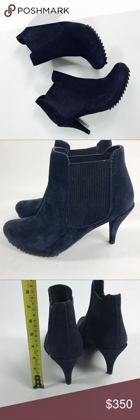 NWOB Pedro Garcia Yoad ankle suede boots sz 40 Gorgeous ankle suede women's boots by Pedro Garcia. Store display. No box nor dust bag. Come from smoke free warehouse. Truly stunning! Pedro Garcia Shoes Ankle Boots & Booties