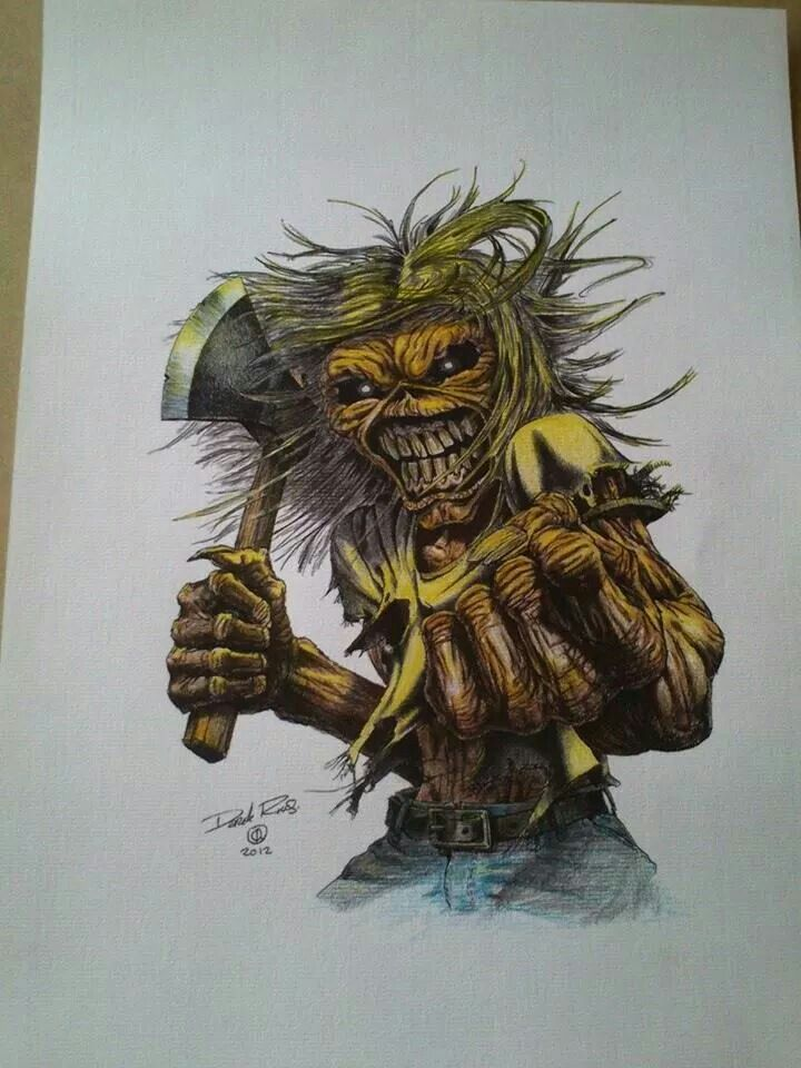 591 best images about Iron Maiden Eddie on Pinterest