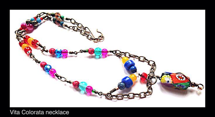 Vita Colorata Necklace