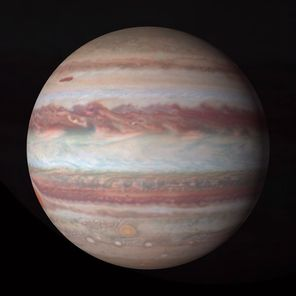 The photos are the first in a series of yearly 4K portraits of our solar system's outer planets and reveal a pair of intriguing features on Jupiter
