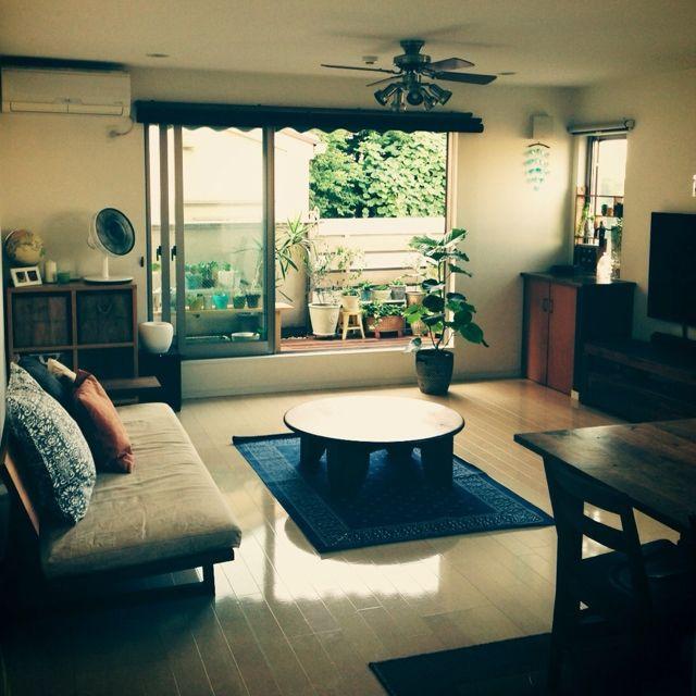 yossyさんの、My Best RoomClip,2013.summer,部屋全体,のお部屋写真