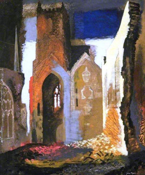 'A Betjemanism in Paint': The 'Seeing Eye' of John Piper | Ditherings of an Englishman